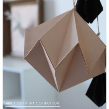 Bombki origami