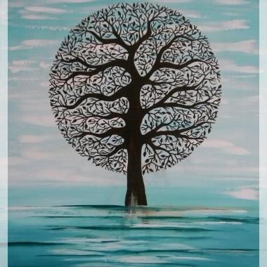 malowanie drzew ciąg dalszy
