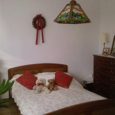 Sypialnia w świątecznej odsłonie