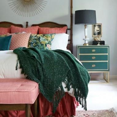 Sypialnia szmaragdowa,malachitowa...