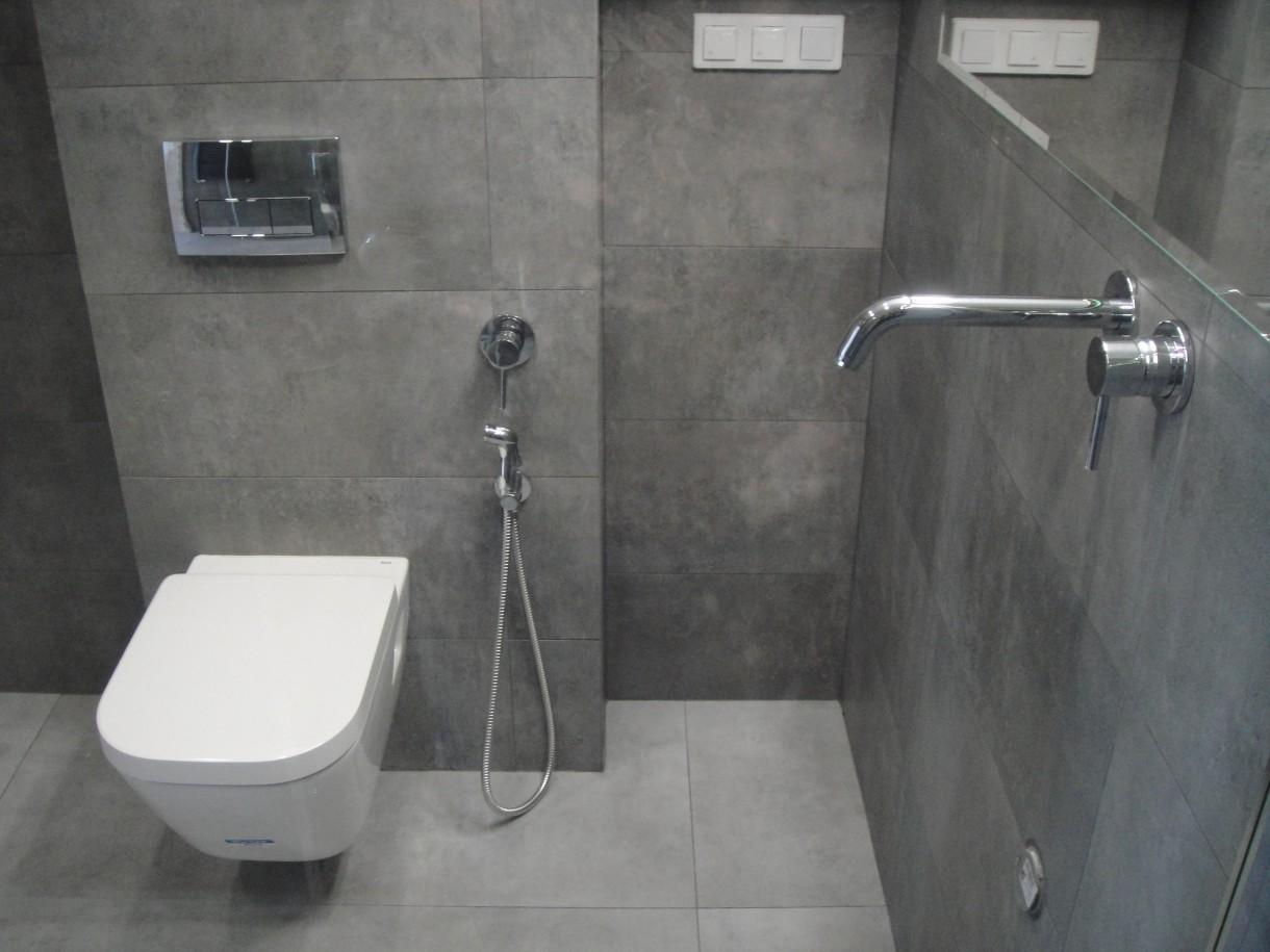 Bar łazienka podłączenie