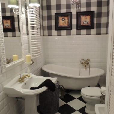 Mała metamorfoza łazienki ...