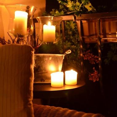 noc i świece , to lubię!