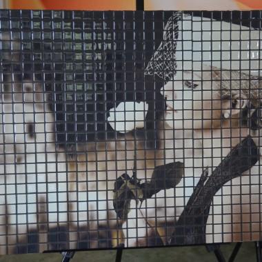 """fotomozaika szklana """"kobieta"""""""