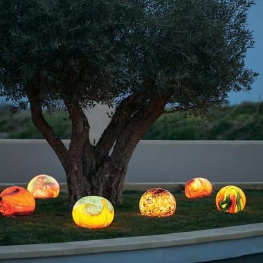 Lampy kuliste Mdina Glass
