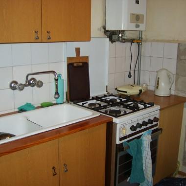 kuchnia przed i po remoncie