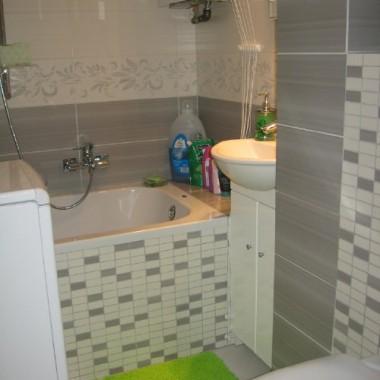 Moja mała łazienka w bloku :)