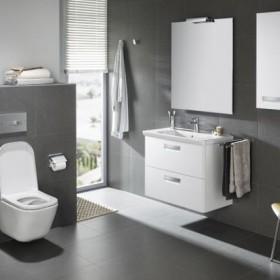 Podwieszana miska WC GAP Clean Rim