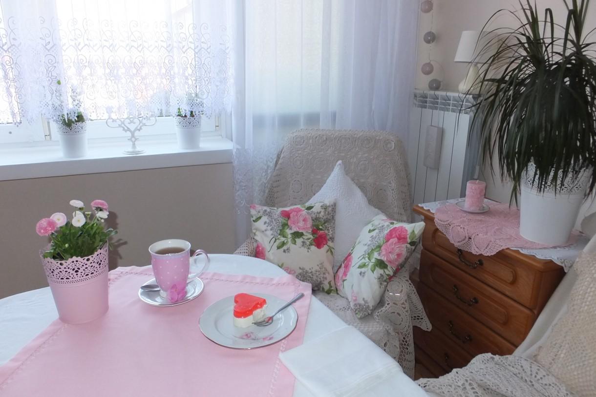 Salon, Wiosny ciąg dalszy...... ZAPRASZAM :) - Wieczorem czas na ciacho i herbatkę &#x3B;)