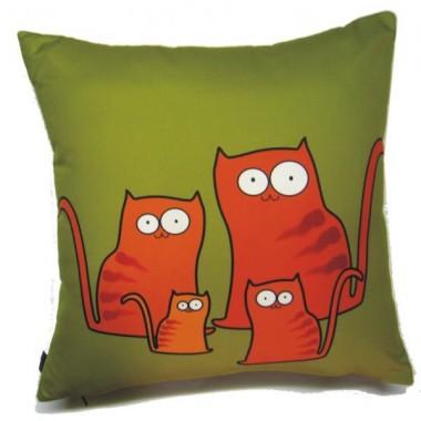 Poduszka z kotem