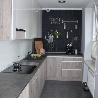 Metamorfoza kuchni oraz salonu