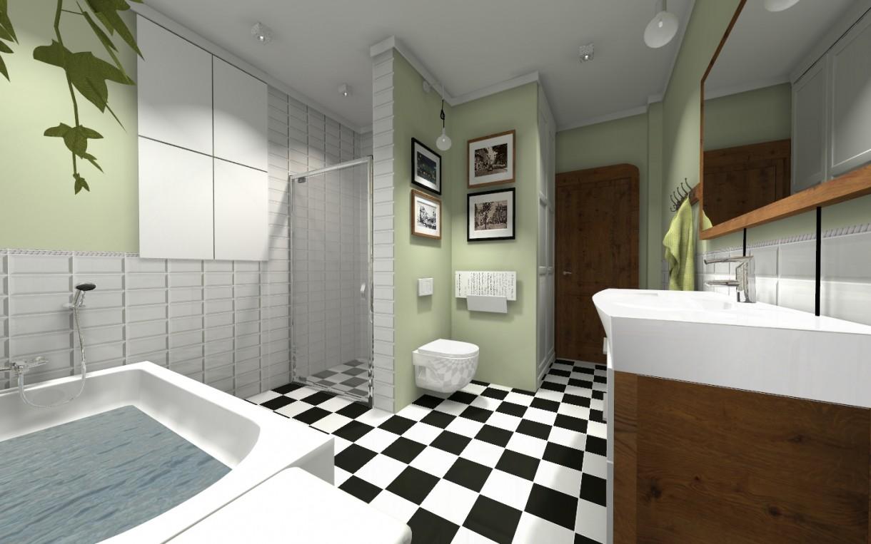 Zdjęcie 48 W Aranżacji łazienka W Kamienicy Styl