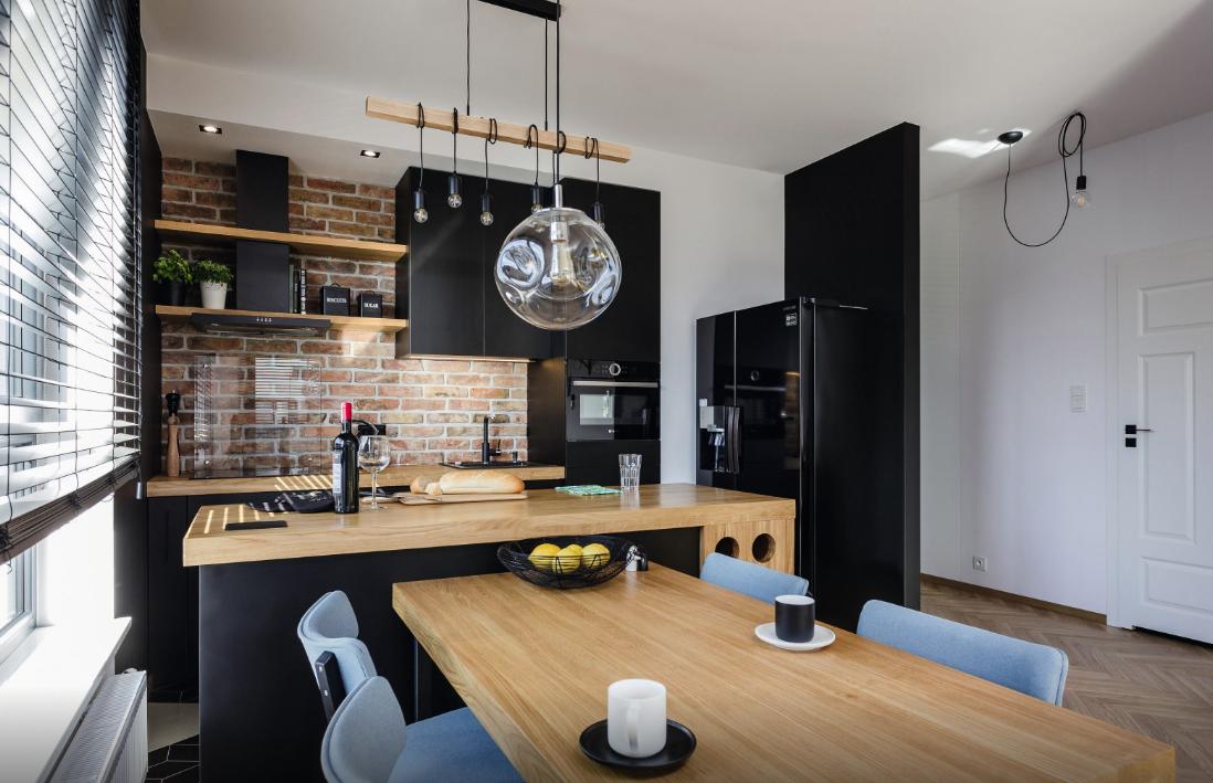 Kuchnia, Przytulne kuchnie