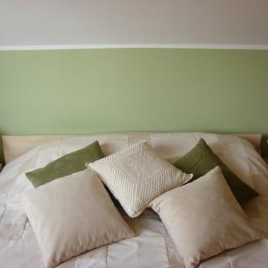 Tymczasowa sypialnia