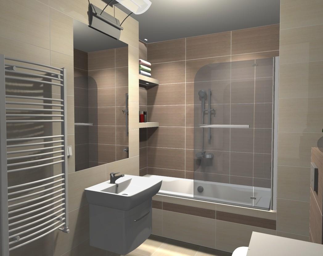 Projekt łazienki Z Płytek Paradyż Meisha Deccoriapl