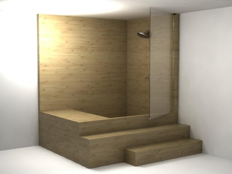 Pozostałe, Wyjątkowa kolekcja - Kabiny prysznicowe wykonane w drewna