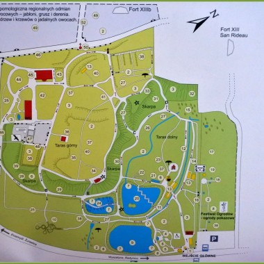 mapka arboretum