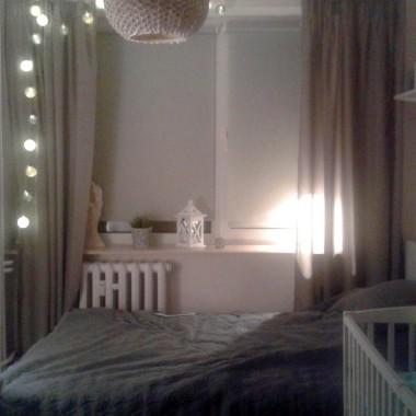 Sypialnia po małych zmianach
