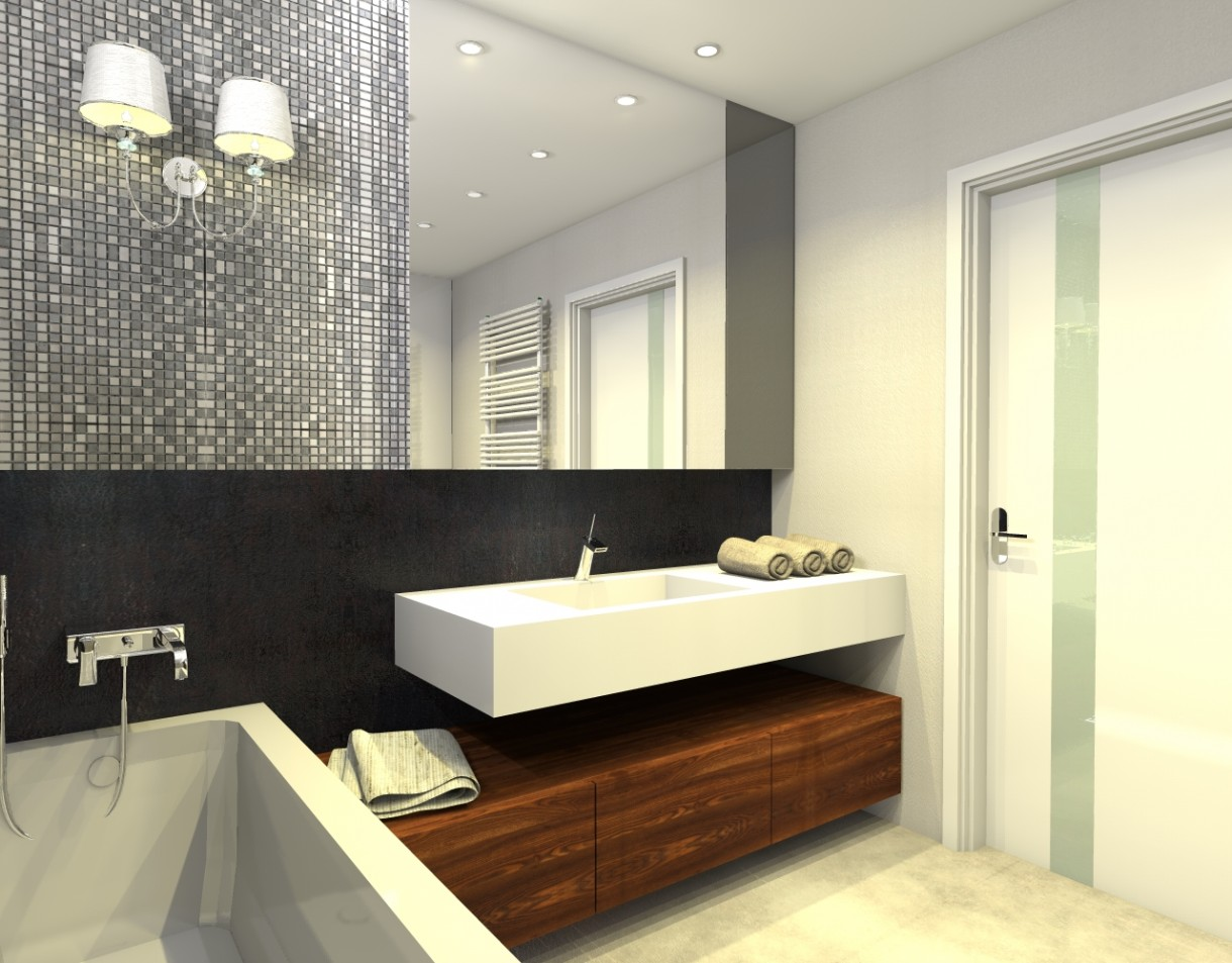 Zdjęcie 2540 W Aranżacji Meble łazienkowe Na Wymiar