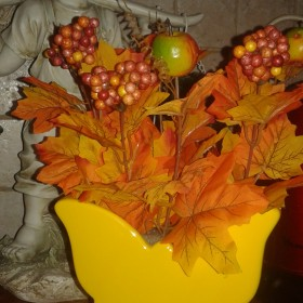 Troszkę jesieni:)