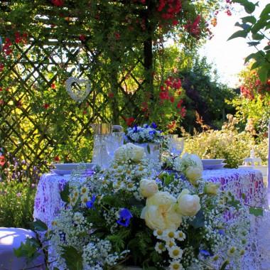 kolacja pod różą.