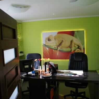 Biuro przed i po