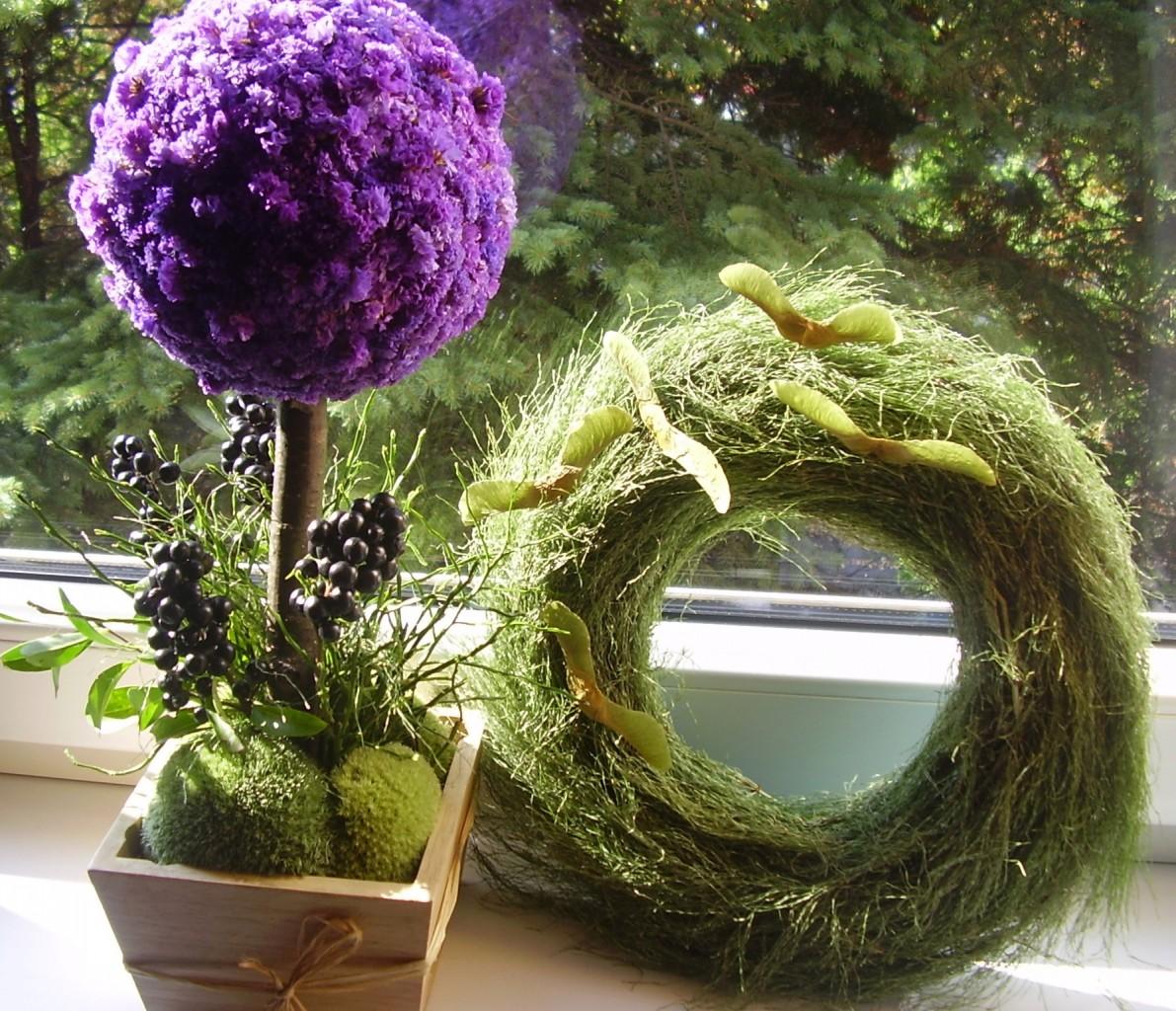 Pozostałe, Jak zmieniało się moje mieszkanie- konkurs - Florystyczne DIY