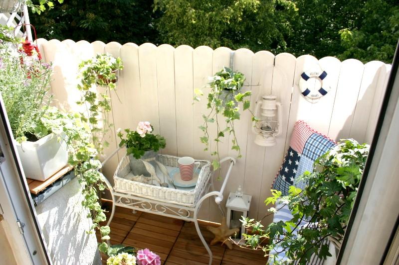 Balkon, Mały balkon