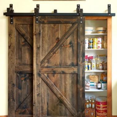 mój projekt DIY dzwi od stodoły