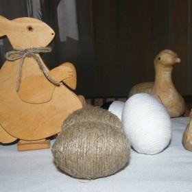 Wielkanocne dekoracje-  moje handmade