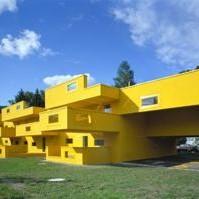 zabawne, kolorowe, dziwne... czyli kiedy architekci zabaluja