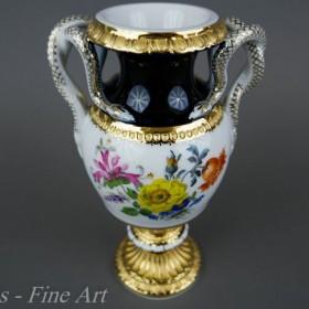wężowaty wazon Miśnia, Meissen