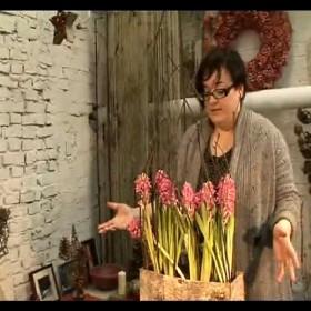 Kompozycje z kwiatów - krok po kroku