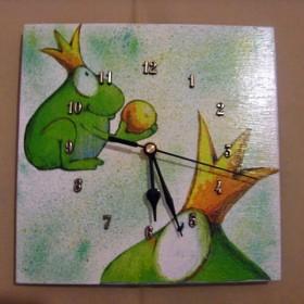 ZaŻabisty zegar