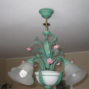 lampa wisząca prowansja