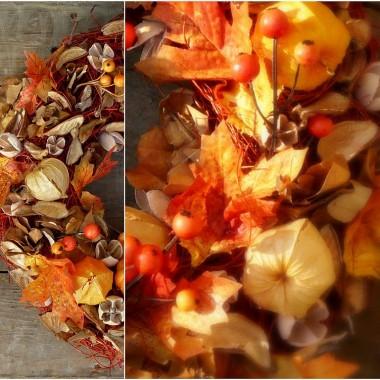 Przedstawiam Wam kolejną jesienną propozycję: wianuszek Słoneczna Jesień.Zapraszam na bloga: zastygla-natura.blogspot.com
