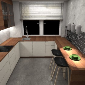 Dom w Markach - Kuchnia