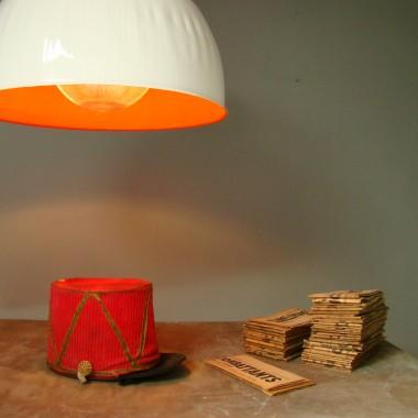 ORANGE  LAMP & SCENOGRAPHY