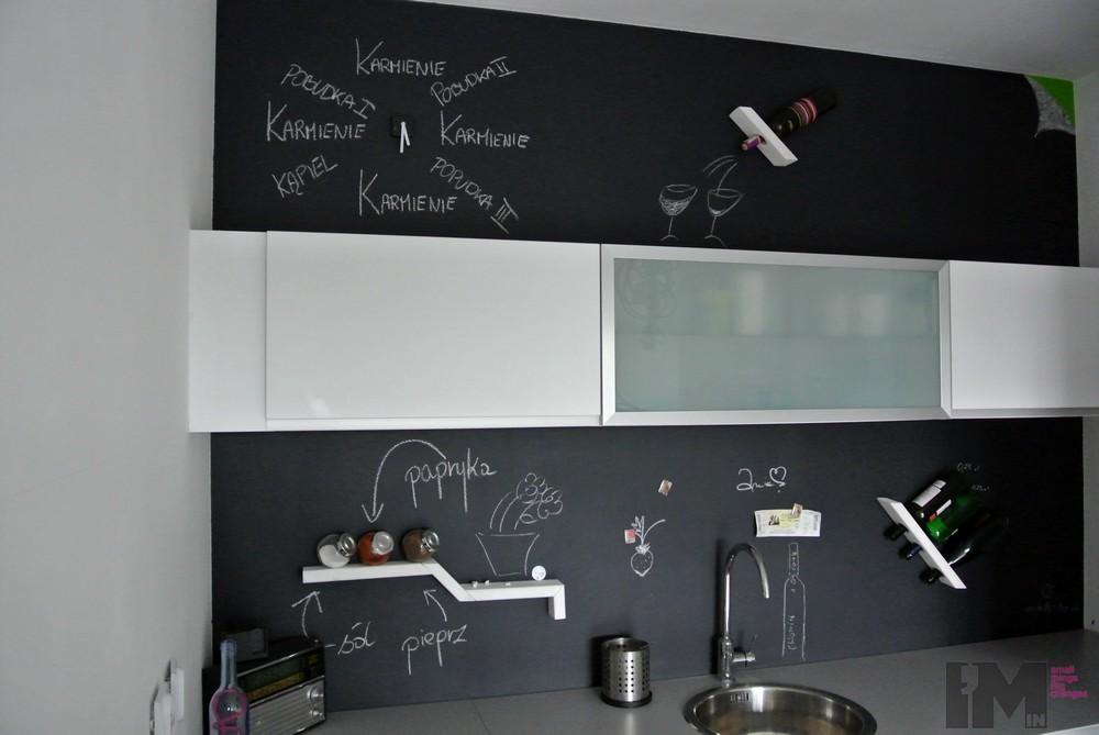 Zdjęcie 113 W Aranżacji Kuchnia Z Farbą Tablicową Deccoriapl