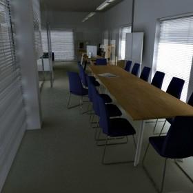 gabinet, sala konferencyjna w salonie samochodowym...