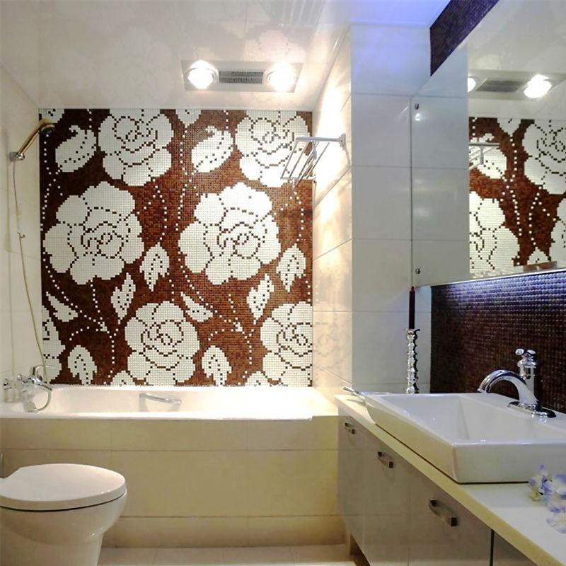 Ściany, Obrazy z mozaiki szklanej  z katalogu SICIS BISAZZA - Obrazy z Mozaiki Sicis Bisazza Primavera Supermozaika
