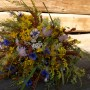 Rośliny, Trochę lata - Bukiet z kwiatow ląkowych.