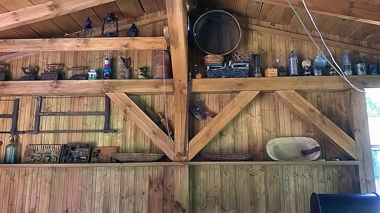 Realizacje, altanka z grillem i wędzarnią