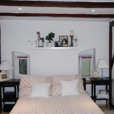 odświeżona sypialnia