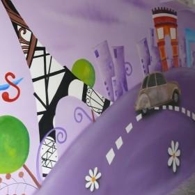Malarstwo ścienne, fresk, mural,