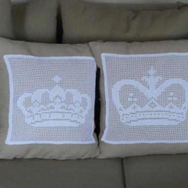 Poduszki z koroną