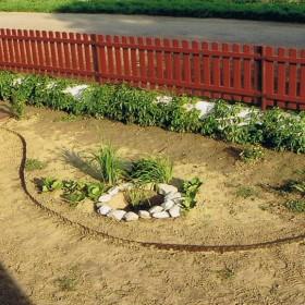 Jak powstawał ogród...