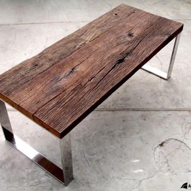 stoły ze starego drewna dębowego cz.2