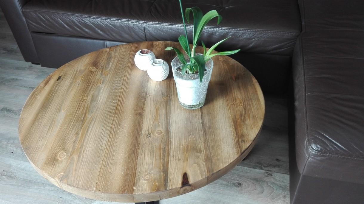 Zdjęcie 216 W Aranżacji Stoliki Kawowe Stare Drewno