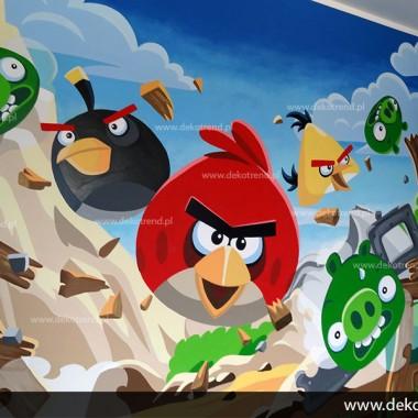 artystyczne malowanie ścian, malowidła ścienne, malunki na ścianie, pokój dziecięcy, pokój dla dziecka, pokój dla dziewczynki, pokój dla chłopca, pokój dla dziewczynki, dekoracja ścian, Angry Birds